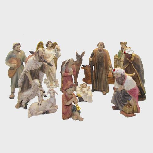 Krippenfiguren 13-teilig 20cm