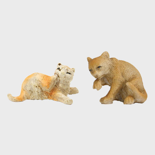 Krippenfiguren Katzen