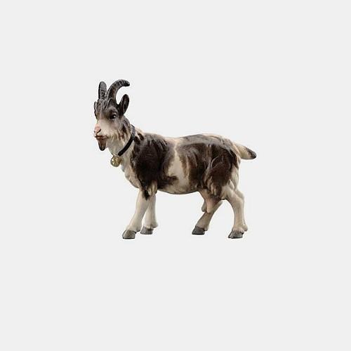 Rainell 197 Krippenfigur Ziege mit Glöckchen linksschauend