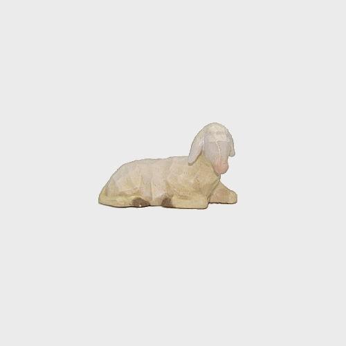 Anna 8142 Krippenfigur Schaf liegend