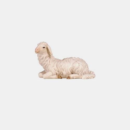 Mahlknecht 252 Krippenfigur Schaf liegend linksschauend