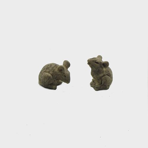 Krippenfiguren Mäuse