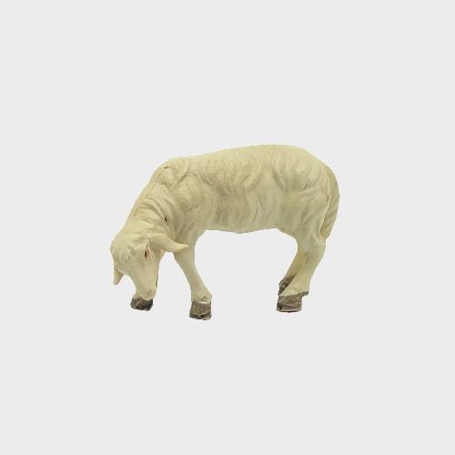 Krippenfigur Schaf äsend