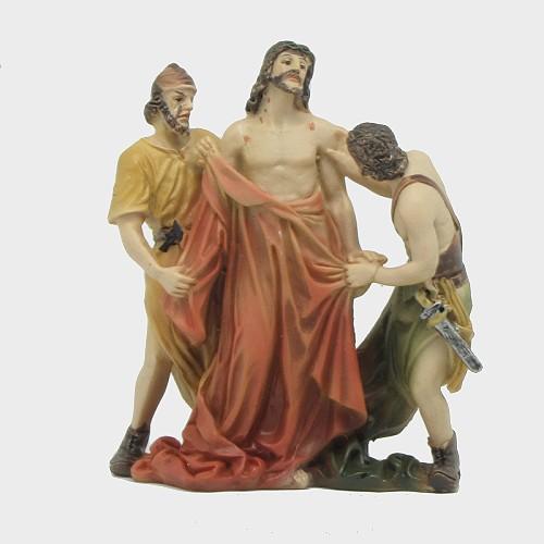 Passionsfiguren Kleiderraub 9cm