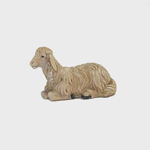 Nazareth Krippenfigur Schaf liegend