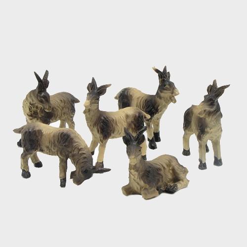 Krippenfiguren Ziegen