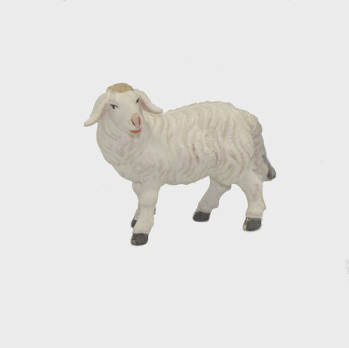 Zirbel 261 Krippenfigur Schaf stehend linksschauend