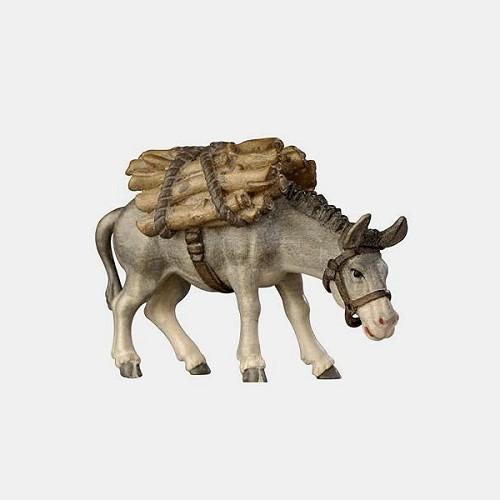 Rainell 185 Krippenfigur Esel mit Holz