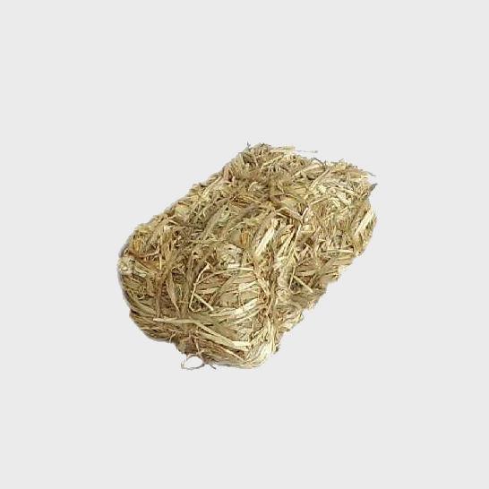 Krippendekoration Strohballen
