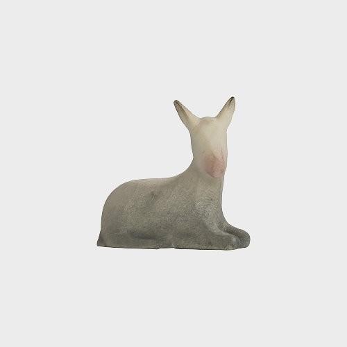 Aram 2252 Wasserfarbend Krippenfigur Esel