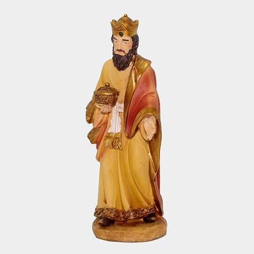Krippenfigur König weiß