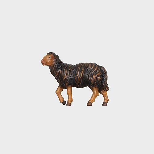 Rainell 259S Krippenfigur Schaf schwarz stehend Kopf hoch