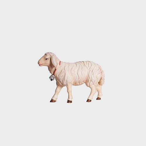 Rainell 258 Krippenfigur Schaf gehend mit Glocke