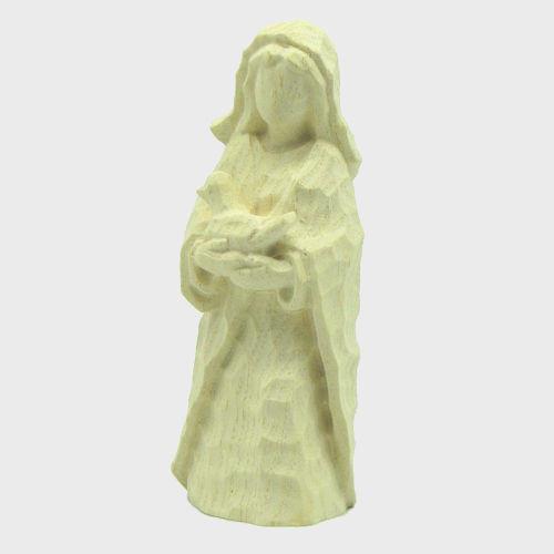 Anna 8122 Krippenfigur Hirtin mit Ente