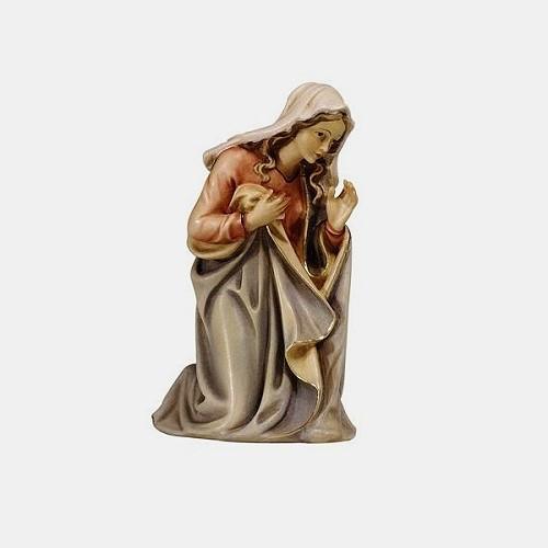 Handbemalte Kostner 002 Krippenfigur Heilige Maria