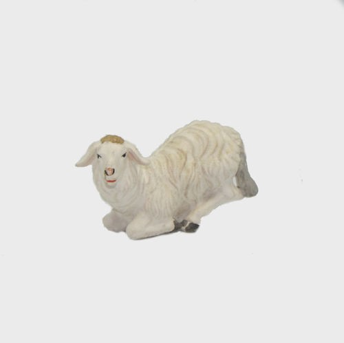 Zirbel 267 Krippenfigur Schaf kniend