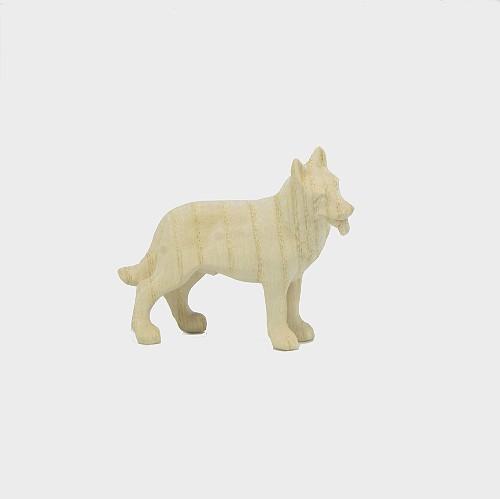 PEMA 157 natur Krippenfigur Schäferhund
