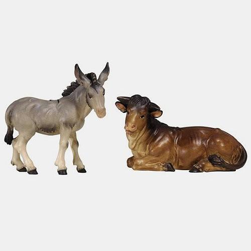Kostner 000512 Krippenfiguren Ochs und Esel