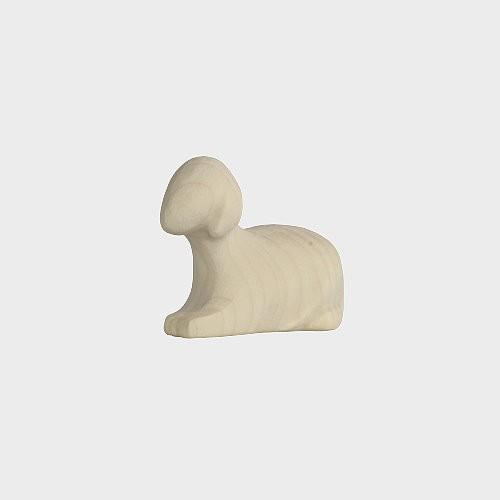 Aram 2303 Natur Krippenfigur Schaf liegend