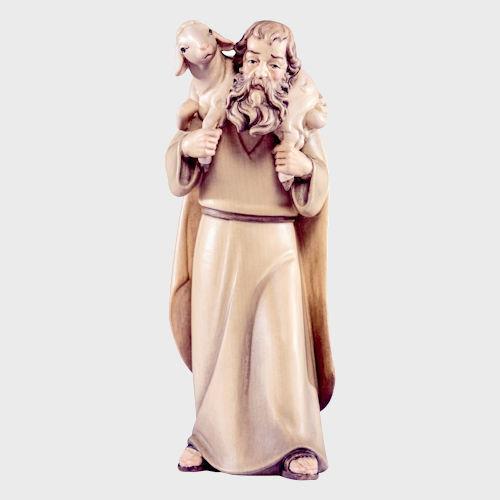 Artis 4514 Krippenfigur Hirte mit Lamm auf Schulter