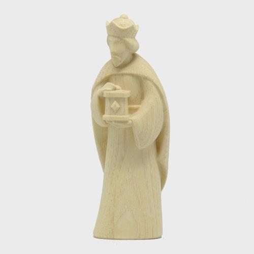 Fides 4609 Natur Krippenfigur König weiß