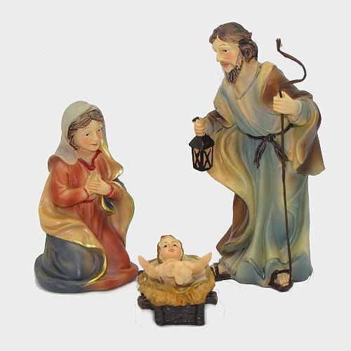 Krippenfiguren Johanneskrippe Hl. Familie