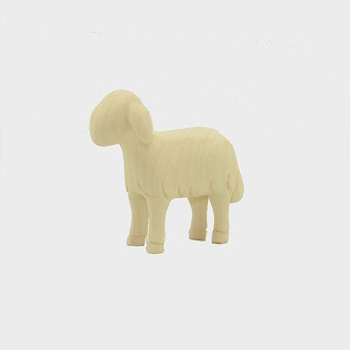 Leonardo 910260 Natur Krippenfigur Schaf stehend vorwärtsschauend