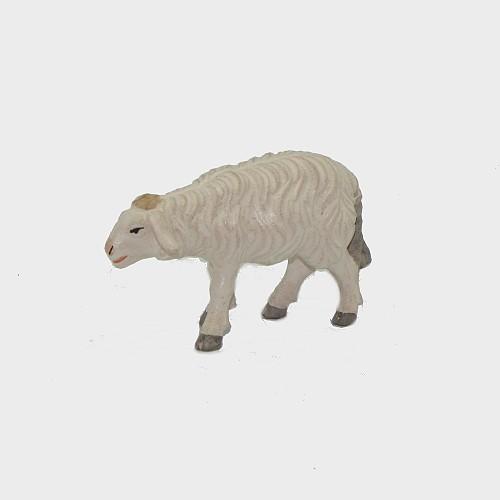 Zirbel 260 Krippenfigur Schaf stehend vorwärtsschauend