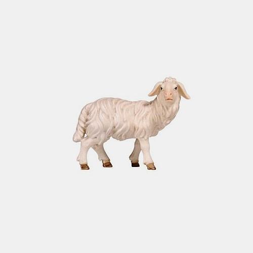 Handbemalte Kostner 262 Krippenfigur Schaf stehend rechtsschauend