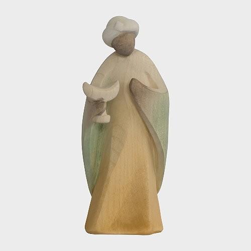 Aram 2202 Wasserfarbend Krippenfigur Heiliger König Mohr