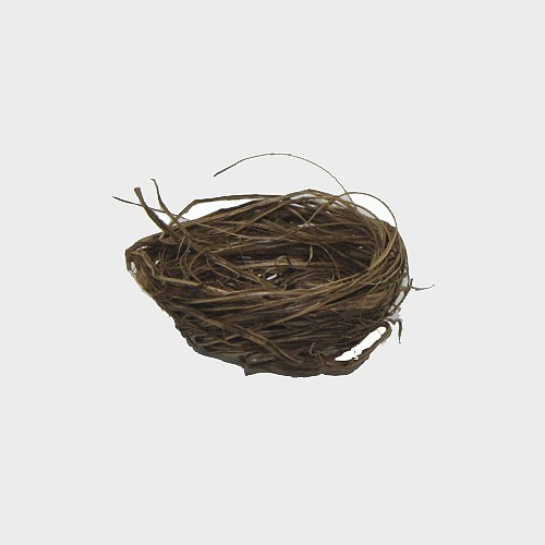 Krippendekoration Nest