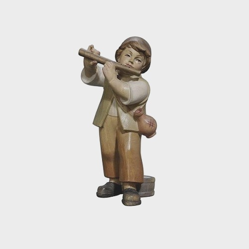 PEMA 016 Krippenfigur Bub mit Flöte