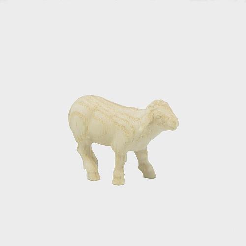 PEMA 260 natur Krippenfigur Schaf stehend vorwärtsschauend