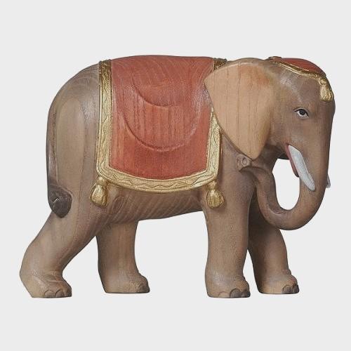 Advent 181 Krippenfigur aus Eschenholz Elefant
