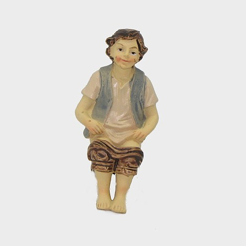 Krippenfigur aus Kunstharz Klositzer
