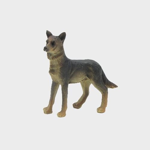 Krippenfigur Schäferhund