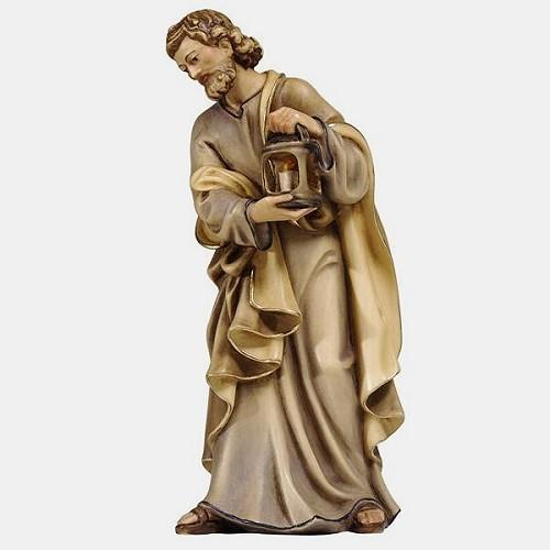 Handbemalte Kostner 001 Krippenfigur Heiliger Josef