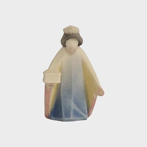 Aram 2201 Wasserfarbend Krippenfigur Heiliger König kniend