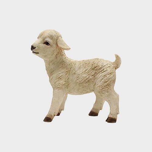 Krippenfigur Lamm
