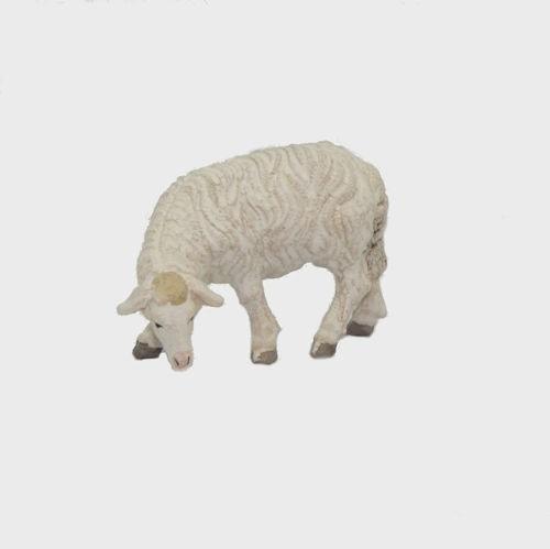 Zirbel 256 Krippenfigur Schaf äsend linksschauend