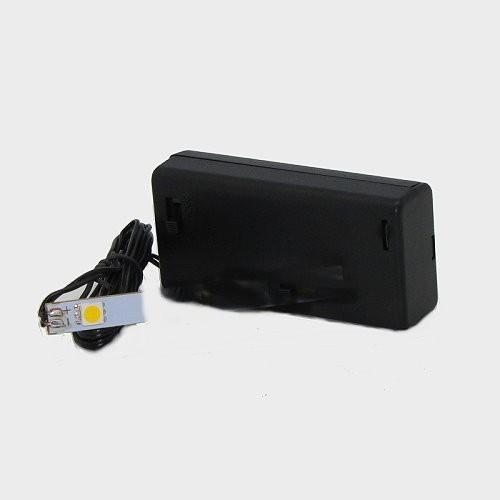 Krippenbeleuchtung Batteriebox 3Volt mit LED-Streifen