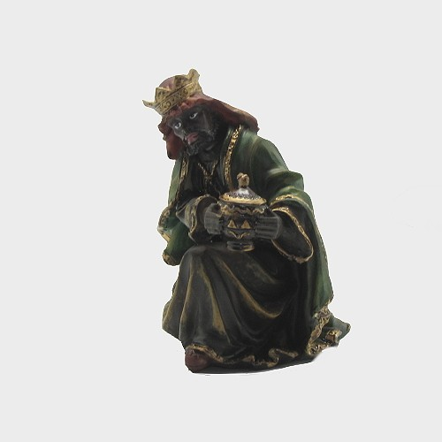 Krippenfigur König kniend 20cm hoch