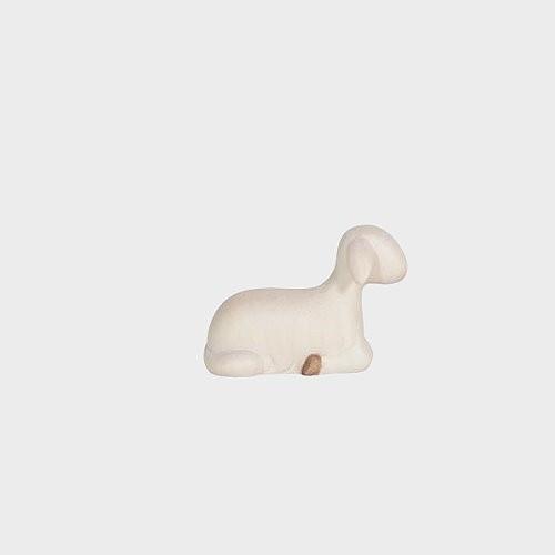 Krippenfigur Schaf liegend vorwärtsschauend Leonardo 910251 Color