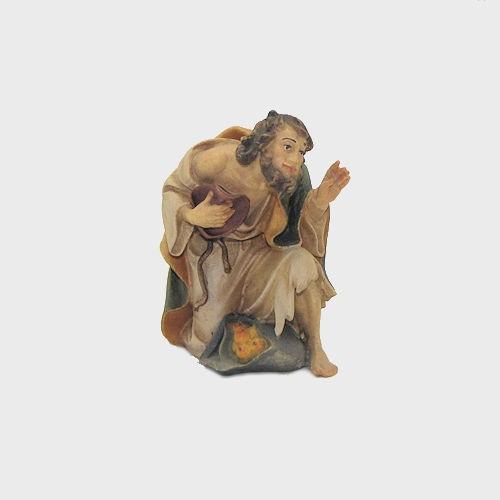Nazareth Krippenfigur Hirte kniend mit Obst