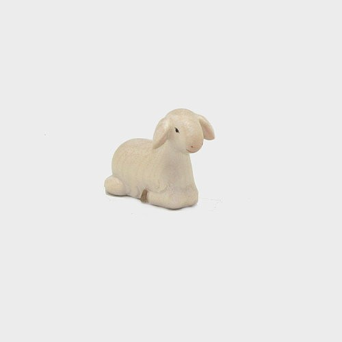 Krippenfigur Schaf liegend vorwärtsschauend Leonardo 910251