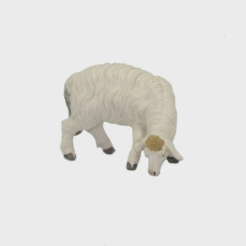 Zirbel 257 Krippenfigur Schaf äsend rechtsschauend