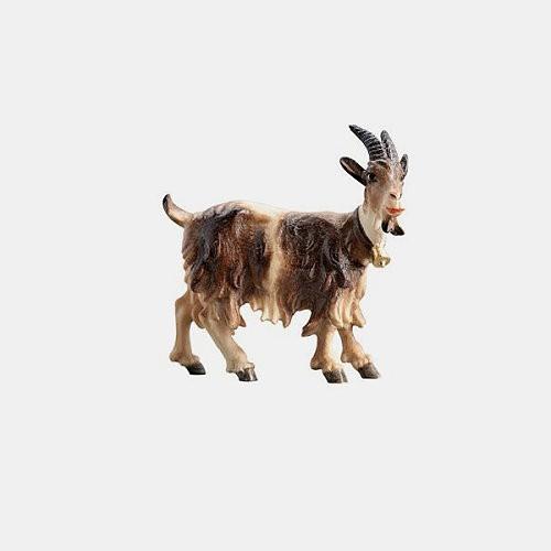 Mahlknecht 215 Krippenfigur Ziege mit Glöckchen rechtsschauend
