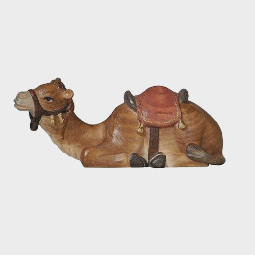 Advent 172 Krippenfigur aus Eschenholz Kamel liegend