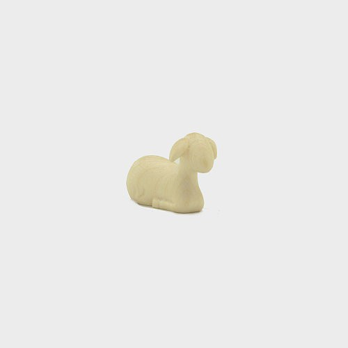 Krippenfigur Lamm liegend Leonardo 910282 Natur