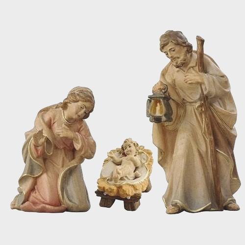Krippenfigur Zirbel 502 Heilige Familie